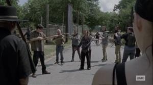 Stalker- Gamma arrives at Alexandria- AMC, The Walking Dead