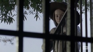 Stalker- Judith asks Gamma what her real name is- AMC, The Walking Dead