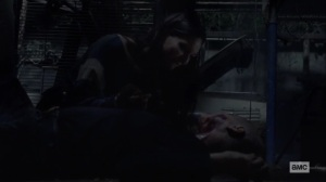 Stalker- Lydia with her mother- AMC, The Walking Dead