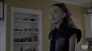 Stalker- Rosita tells Gabriel that he's being erratic- AMC, The Walking Dead
