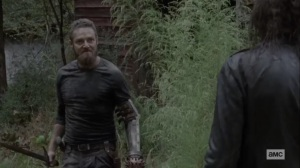 Walk With Us- Aaron sees Negan as a Whisperer- AMC, The Walking Dead