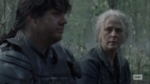Walk With Us- Carol hears about Eugene's upcoming meeting- AMC, The Walking Dead