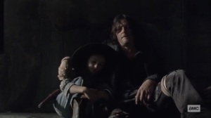 Walk With Us- Daryl consoles Judith- AMC, The Walking Dead
