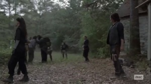 Walk With Us- Daryl's Hilltop team arrives at rendezvous point- AMC, The Walking Dead