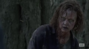 Walk With Us- Gamma reanimates as a walker- AMC, The Walking Dead
