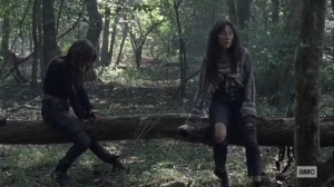 Walk With Us- Magna and Yumiko have an overdue conversation- AMC, The Walking Dead