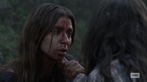 Walk With Us- Magna tells Yumiko how she and Connie escaped- AMC, The Walking Dead