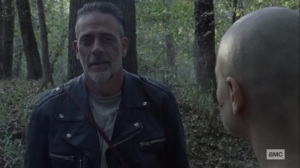 Walk With Us- Negan tells Alpha about his strength- AMC, The Walking Dead