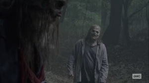 Walk With Us- Whisperer recognizes Beta's true identity- AMC, The Walking Dead