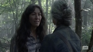 Walk With Us- Yumiko chews out Carol- AMC, The Walking Dead