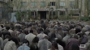 The Tower- Beta brings walker herd to the tower- AMC, The Walking Dead