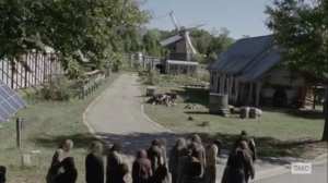 The Tower- Beta leads walker herd into Alexandria- AMC, The Walking Dead