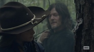 The Tower- Daryl and Judith on the hunt- AMC, The Walking Dead