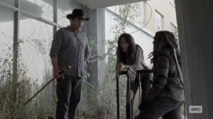 The Tower- Eugene, Yumiko, and Eugene weigh their options- AMC, The Walking Dead