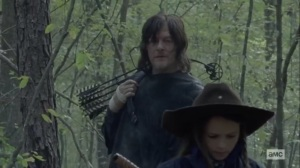 The Tower- Judith still thinking about the Whisperer in the ditch- AMC, The Walking Dead