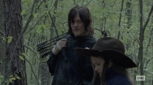 The Tower- Judith upset about leaving the Whisperer in a ditch- AMC, The Walking Dead