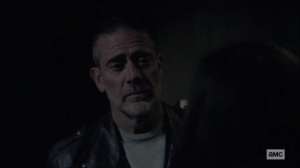 The Tower- Negan tells Lydia that she needs to mourn her mother- AMC, The Walking Dead