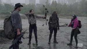 The Tower- Princess explains why she led the three around for so long- AMC, The Walking Dead