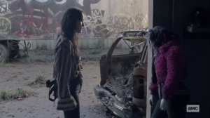 The Tower- Yumiko invites Princess to come with her and the others- AMC, The Walking Dead