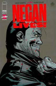 The Walking Dead- Negan Lives cover