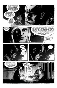 Negan Lives- Negan and Lucy talk about the new normal- The Walking Dead