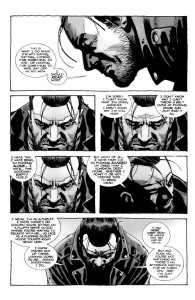 Negan Lives- Negan pays his respects to Lucille- The Walking Dead