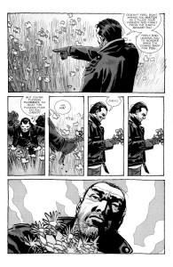 Negan Lives- Negan talks to flowers- The Walking Dead