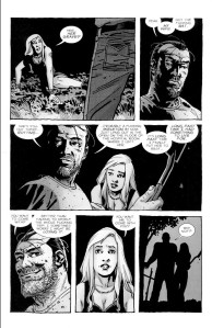 Negan Lives- Negan tells Lucy that he's going to find Lucille's body- The Walking Dead