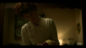 The Land of Taking and Killing- Oraetta prepares an apple pie- Fargo, FX