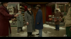 Welcome to the Alternate Economy- Donatello and Loy about to shake hands- Fargo, FX