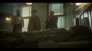 Welcome to the Alternate Economy- Donatello in a hospital bed- Fargo, FX
