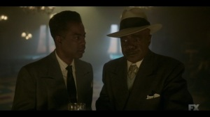 Welcome to the Alternate Economy- Loy and Doctor Senator, played by Glynn Turman, discuss their plan- Fargo, FX