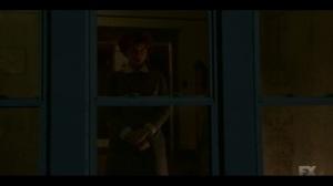 Welcome to the Alternate Economy- Oraetta stares into the night- Fargo, FX