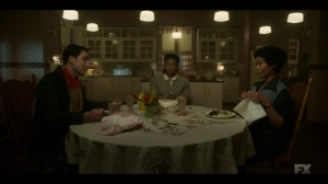 Welcome to the Alternate Economy- Thurman, Ethelrida, and Dibrell have dinner- Fargo, FX