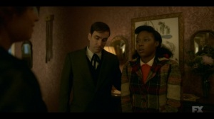Welcome to the Alternate Economy- Thurman, played by Andrew Bird, introduces Ethelrida to Oraetta Mayflower- Fargo, FX