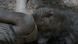 A Certain Doom- Connie sees Virgil- AMC, The Walking Dead