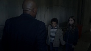 A Certain Doom- Gabriel assures two kids that they will make it out alive- AMC, The Walking Dead