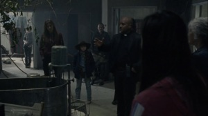 A Certain Doom- Gabriel goes over the attack strategy- AMC, The Walking Dead