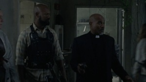 A Certain Doom- Gabriel informs everyone that it's time to evacuate- AMC, The Walking Dead