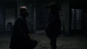 A Certain Doom- Gabriel tells Judith his farewell message to Rosita- AMC, The Walking Dead