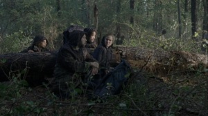 A Certain Doom- Luke, Magna, Jules, and Luke wait for the others- AMC, The Walking Dead