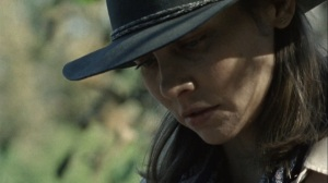 A Certain Doom- Maggie reads a note- AMC, The Walking Dead