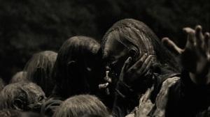 A Certain Doom- Walkers surround Beta- AMC, The Walking Dead