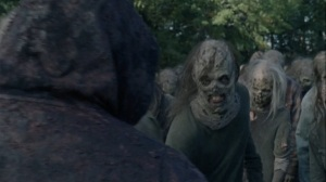 A Certain Doom- Whisperer prepares to attack- AMC, The Walking Dead