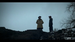 Camp Elegance- Antoon takes Satchel for a walk- Fargo, FX