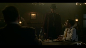 Camp Elegance- Calamita informs Josto and Ebal that Gaetano has been kidnapped- Fargo, FX