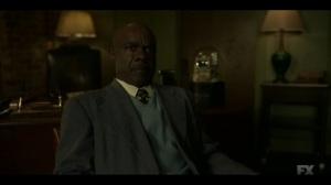 Camp Elegance- Doctor Senator and Loy talk about Satchel- Fargo, FX
