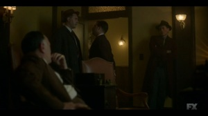 Camp Elegance- Josto orders Odis to find out where Gaetano is being held- Fargo, FX