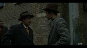 Camp Elegance- Josto tells Rabbi Milligan that Satchel is done- Fargo, FX