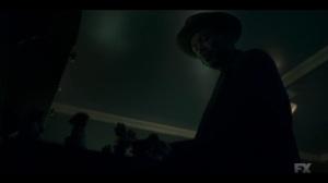Camp Elegance- Loy admires Odis' figurines- Fargo, FX